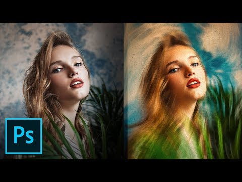 """Variable Speed"" Feature for Incredible Painting Effect! - Photoshop Tutorial thumbnail"