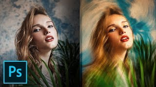 """""""Variable Speed"""" Feature for Incredible Painting Effect! - Photoshop Tutorial"""