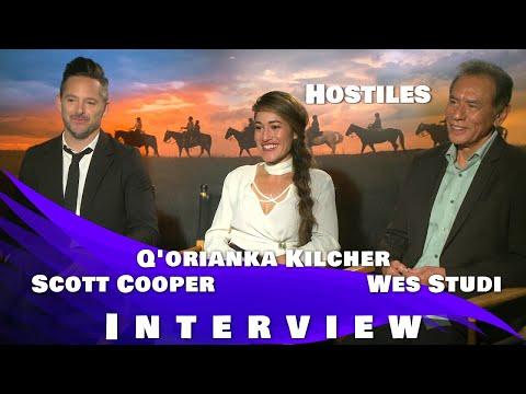 HOSTILES - SCOTT COOPER, Q'ORIANKA KILCHER & WES STUDI INTERVIEW