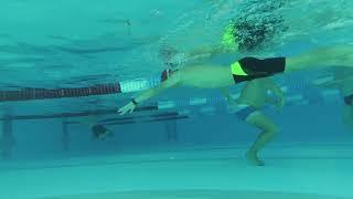 Обучение плаванию кролем  Отчёт о тренинге  Москва июнь 2018.