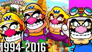 Wario Land - ALL INTROS 1994-2016 (GBA, Gamecube, DS, Wii)