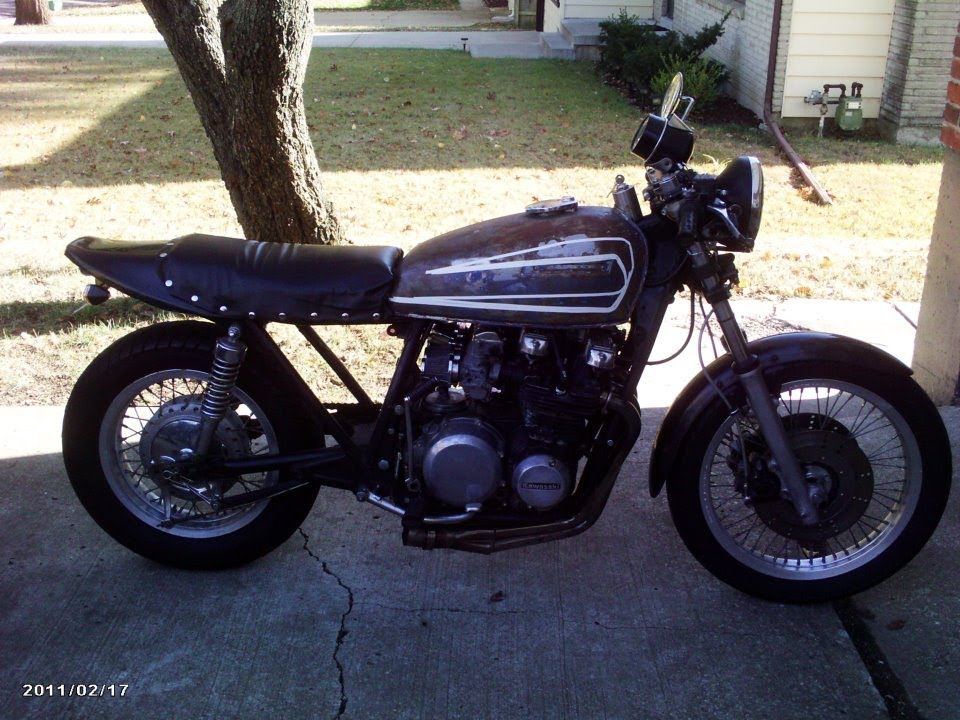 1978 KZ650 mountain run with Ross (why we build these bikes)