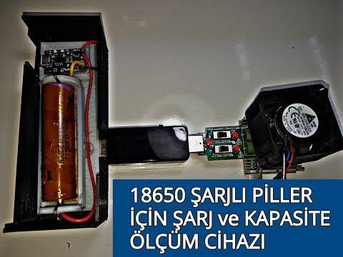Notebook Bataryalarıdan çıkan Piller Için şarj Ve Test Cihazı