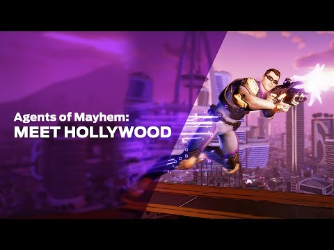 Agents of Mayhem: Meet Hollywood