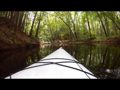 Hitchcock Creek, Rockingham, North Carolina - Kayaking - August 2013