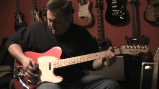 Hot Rodded Squier Affinity Telecaster