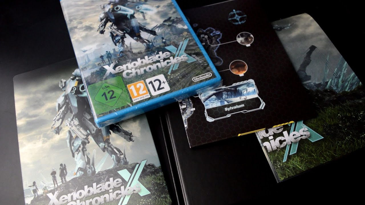 Unboxing xenoblade chronicles x limited edition youtube gumiabroncs Choice Image