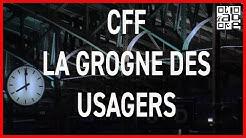CFF: la grogne des usagers dans les trains suisses. ABE-RTS