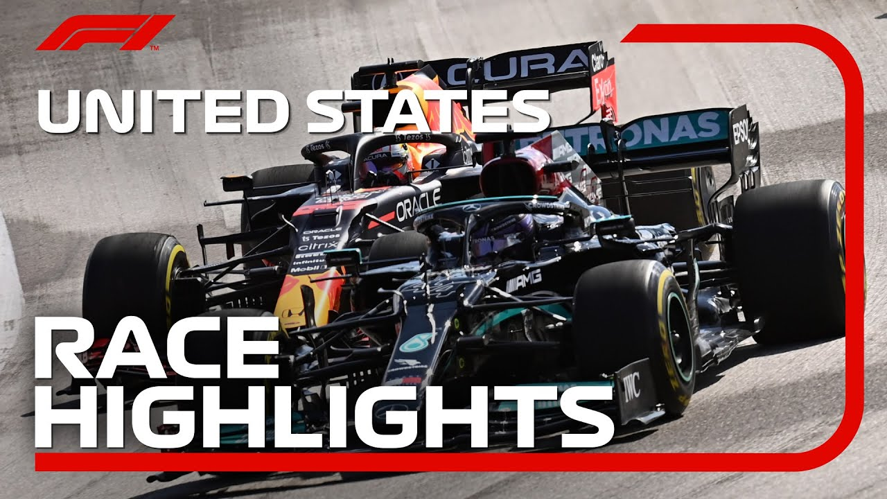 Race Highlights  2021 United States Grand Prix