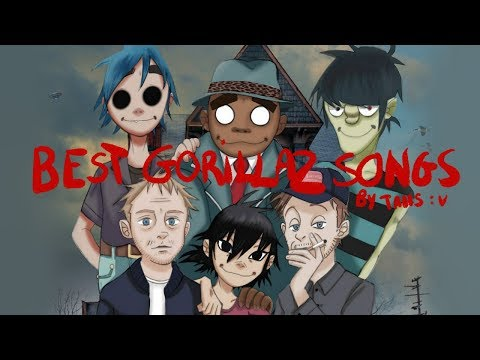 TOP 10 best Gorillaz songs | by Taiis :v