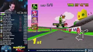 Mario Kart 64 150cc All Cups (Skips) Shortcut Speedrun 25:23 (World Record)