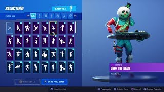 Nouveau! DANCE EMOTES avec SLUSHY SOLDIER SKIN!! Fortnite Bataille Royale