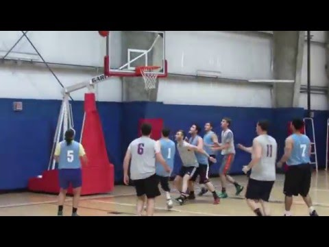 Willis Towers Watson vs NBC Sports Black - Chelsea Piers Basketball - Video - May 12, 2016