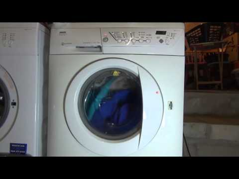 Zanussi Progress Jet System ZWF1437 : Cotton Extra Quick : Final spin 1400rpm (pt 7 of 7)