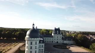 France from the sky- Indre et Loire- Valençay