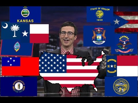 Watch How John Oliver Describes American States