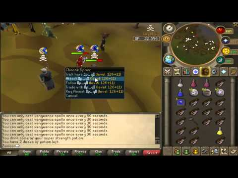 Edgeville Ownage w/ Commentary [Low Hp Risks][Ags/Cmaul/Rapier/Claws]