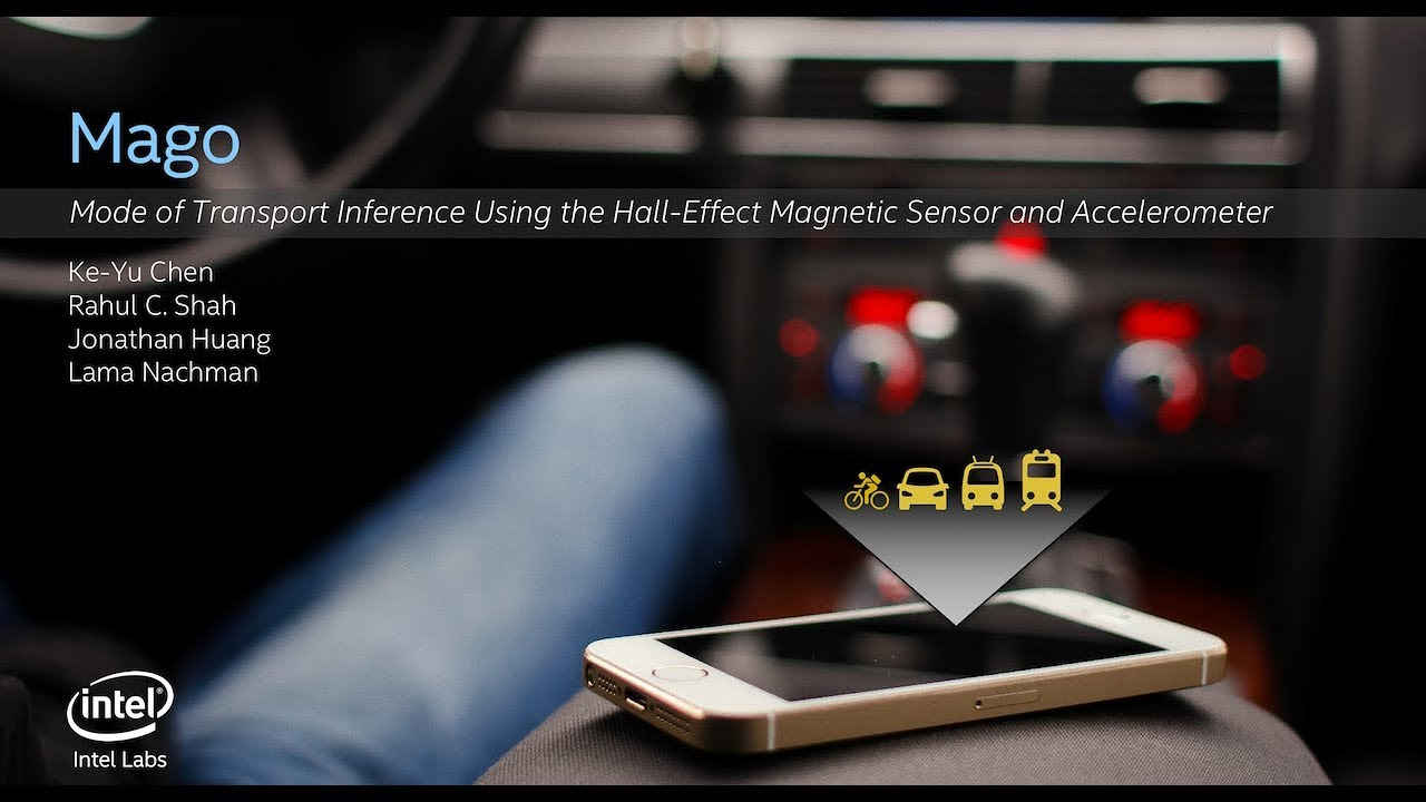 Mago: Mode of Transport Inference Using the Hall- Effect Magnetic Sensor  and Accelerometer