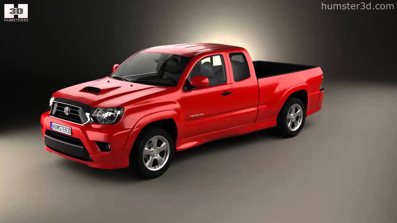Toyota Tacoma X Runner For Sale >> Toyota Tacoma X-Runner 2012 by 3D model store Humster3D.com - YouTube