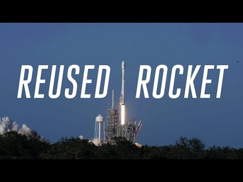 SpaceX relaunches a used rocket, makes history