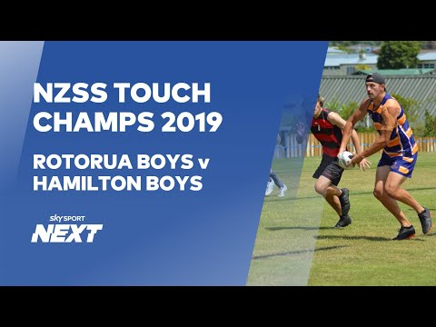 NZSS Touch Championships Grand Final LIVE - Boys
