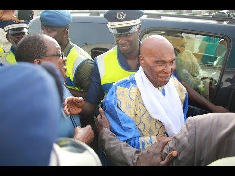 Revivez l'arrivée de Me Abdoulaye Wade à Dakar
