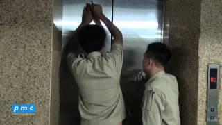 PMC - Công việc cứu hộ thang máy