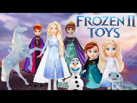 Frozen 2 Toys And Dolls 2020 Youtube