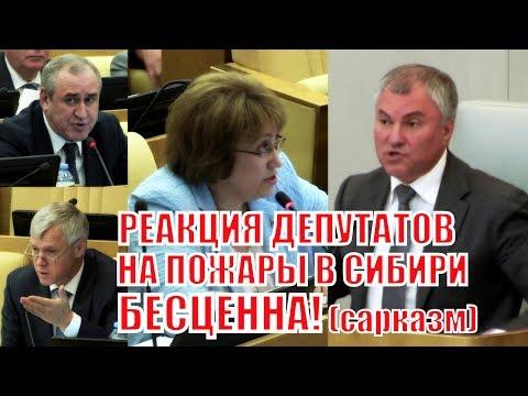 Реакция депутатов Госдумы