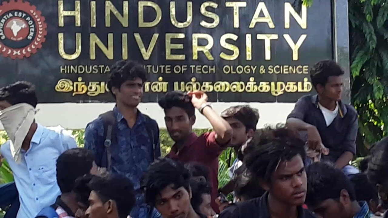protest in industan clg for anitha justy joe [ 1280 x 720 Pixel ]