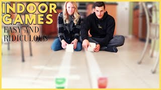 EASY FUN INDOOR GAMES FOR COUPLES \u0026 FAMILIES | HUSBAND \u0026 WIFE PART 3|