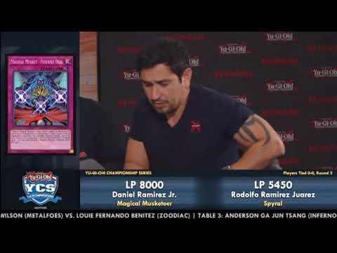 """YUGIOH"" - YCS San Diego 2017: Round 2 Feature Match"