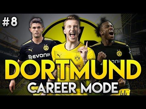 FIFA 18 | Dortmund Career Mode | Ep8 | TOTAL FOOTBALL!
