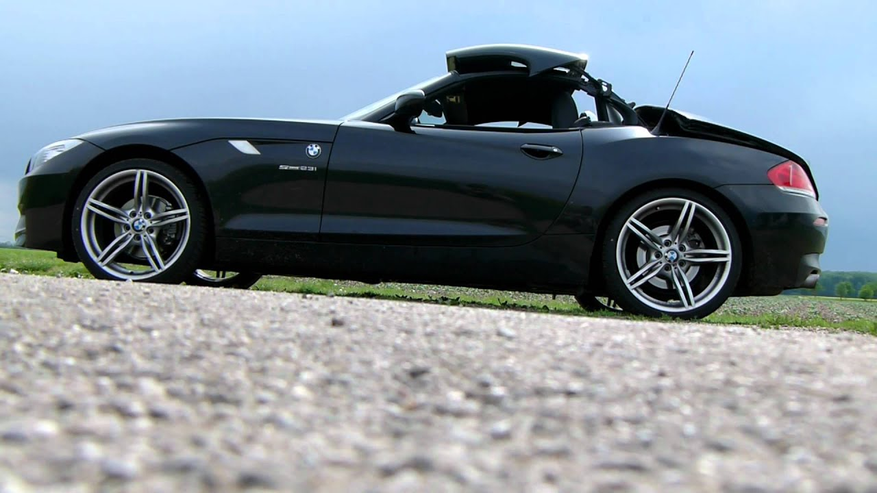 Bmw Z4 Hardtop Opening Youtube