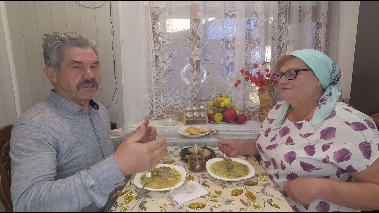 Грибной Супчик - муж в Восторге Ахнул!