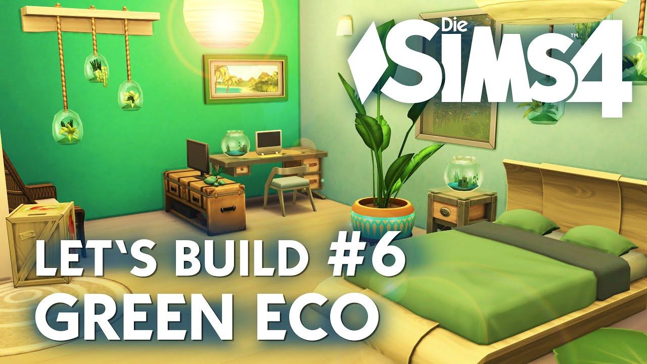 Die Sims 4 Let's Build Green Eco #6 | Haus Bauen + Schlafzimmer ... Schlafzimmer Grn