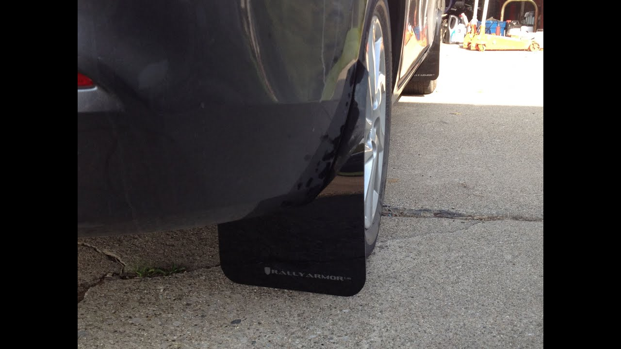 2012 Mazda 3 Rally Armor Mud Flap Install How To Youtube