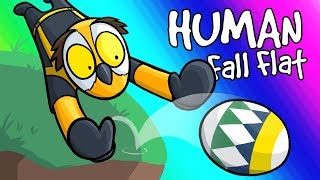 Human Fall Flat Funny Moments - Easter Eggs and Boulders! thumbnail