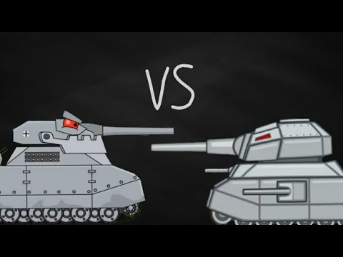 Ratte Vs Ratte-Cartoon About Tanks