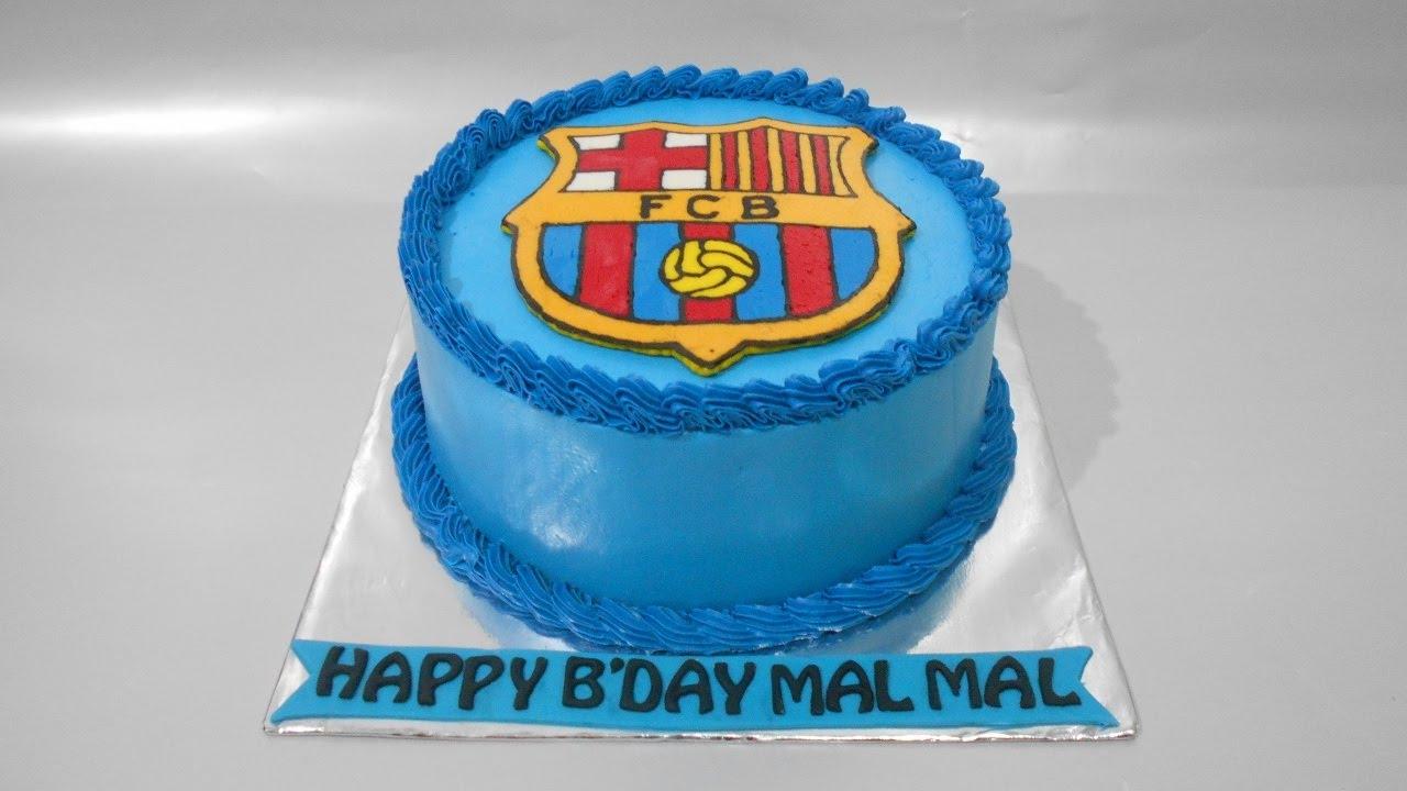 Cake Barcelona Easy Decorating