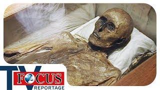 Für die Nachwelt konserviert: Rätselhafte Mumienfunde | Focus TV Reportage Classics