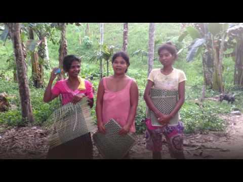 Batak women Benita, Joy and Mila Thanking Supporters