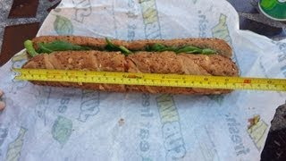 Lawsuits claim Subway sandwich is just 11 inches