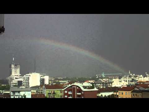 Nice Rainbow from Milan