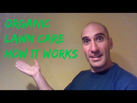 Organic lawn care. How organic works