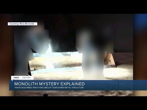 Utah monolith mystery explained