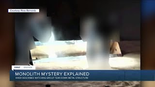 Get Screenshots for video :: Utah monolith mystery explained