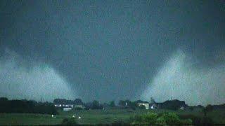 Wedge Tornado near Krum, TX: May 7, 2015