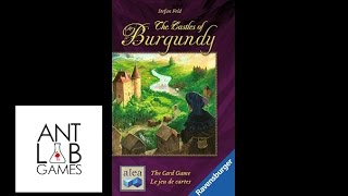 Castles of Burgundy the Card Game Solo Playthrough