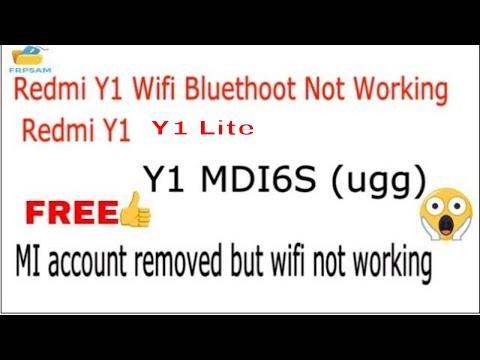 Redmi Y1/Y1 lite (Y1 MDI6S) Fix Bluetooth,Wifi,Hotspot Not Working After reset Mi account Done 100%